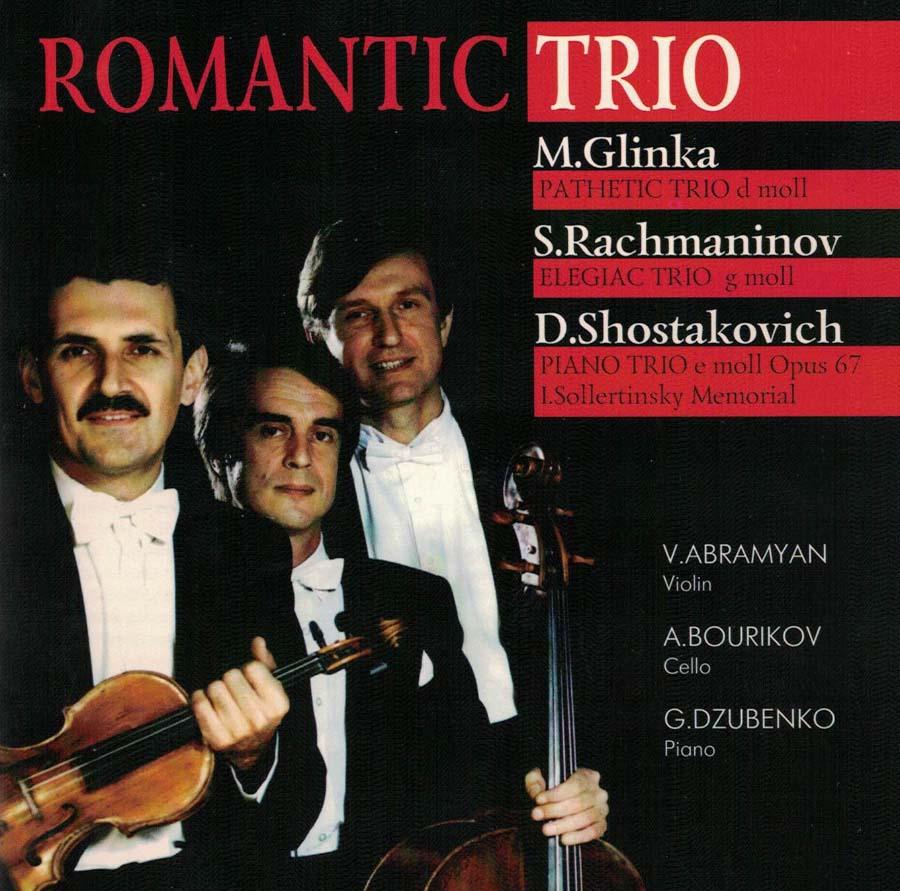 Romantic Trio. M.Glinka, S. Rachmaninov, D. Shostakovich