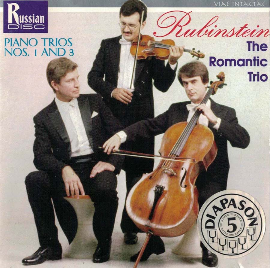 Romantic Trio. Rubinstein Trio NN1.3. RCD-95