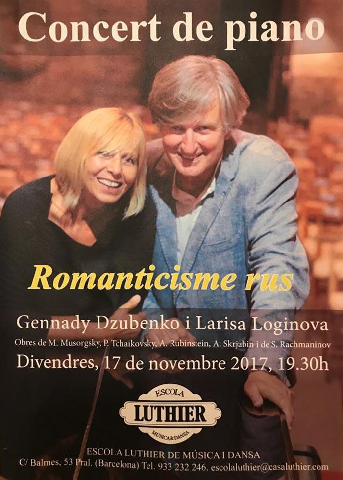 Gennady Dzubenko i Larisa Loginova a 4 mans